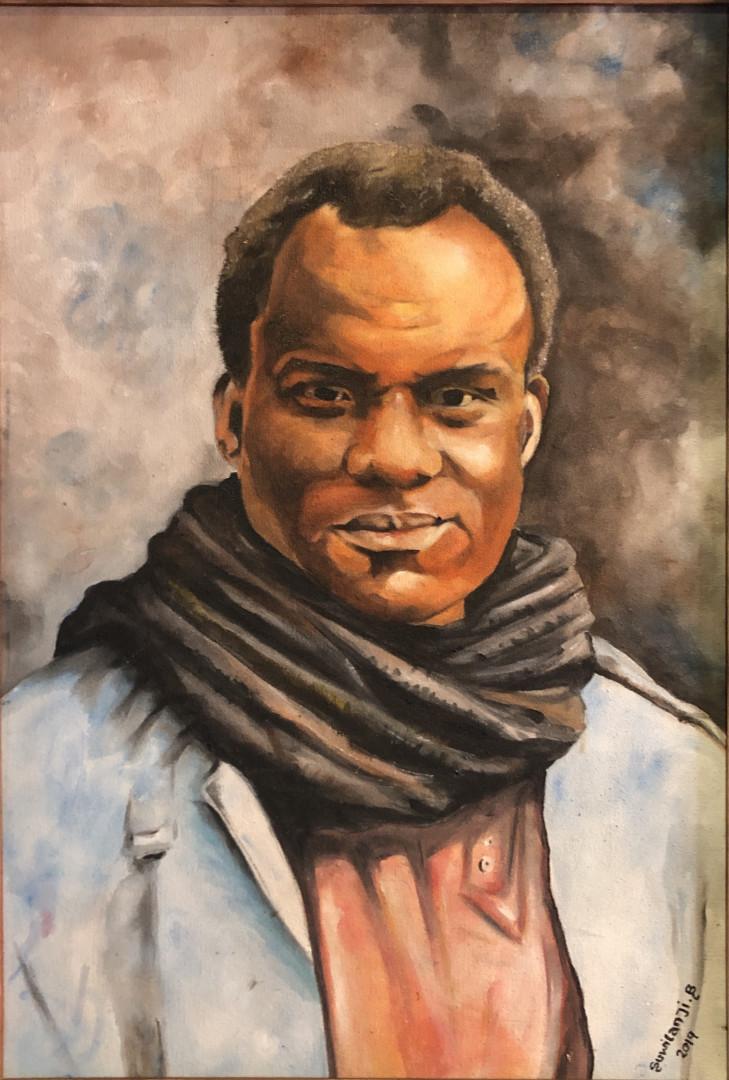 Portrait Of Henry Nkole Tayali