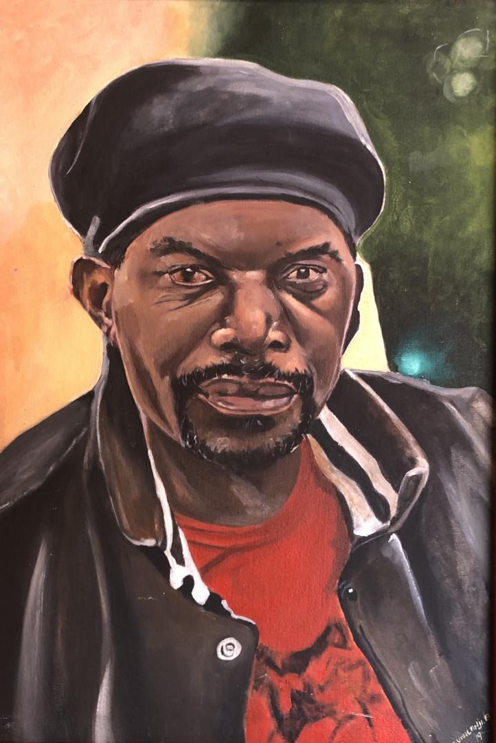 Portrait Of Flinto Chandia